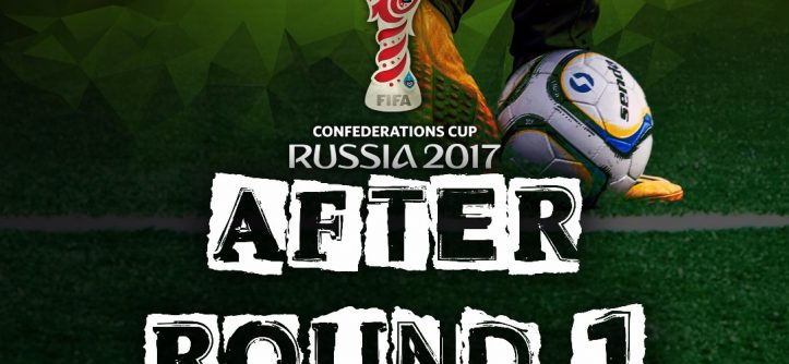 After Round 1 Russia 2017