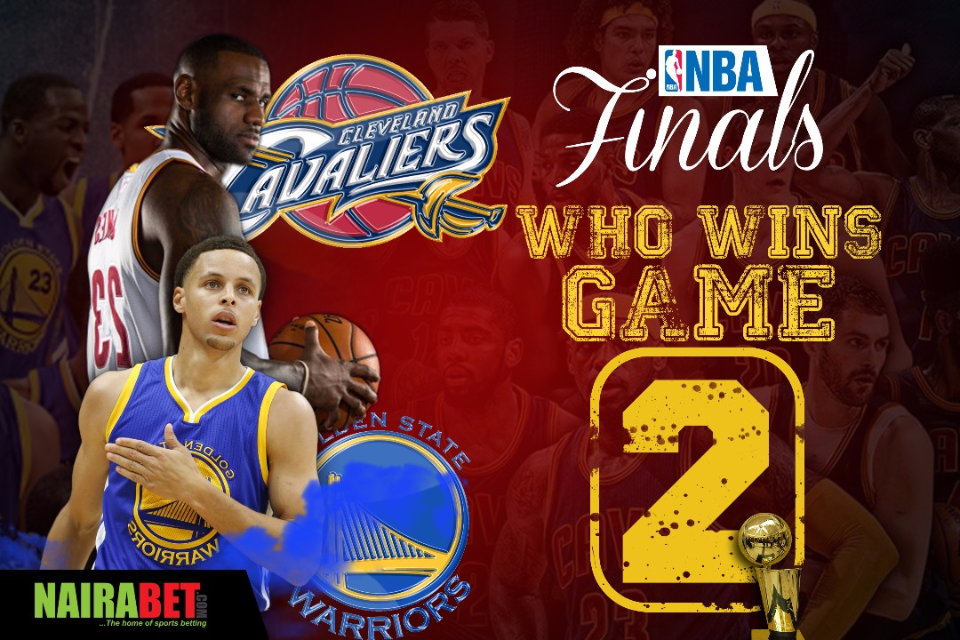 NBA finals 2017 game 2