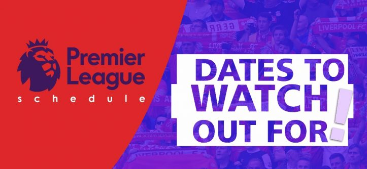 premier league schedule 2017