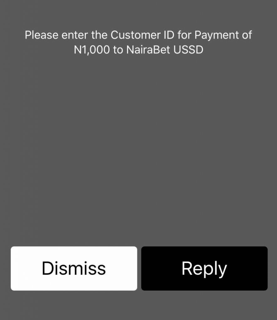 How to Easily Fund Your NairaBET Account with GTBank USSD - Welcome