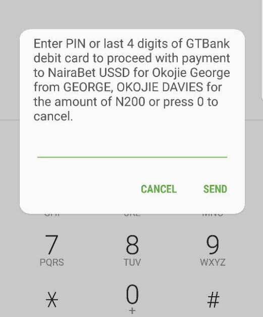 How to Easily Fund Your NairaBET Account with GTBank USSD