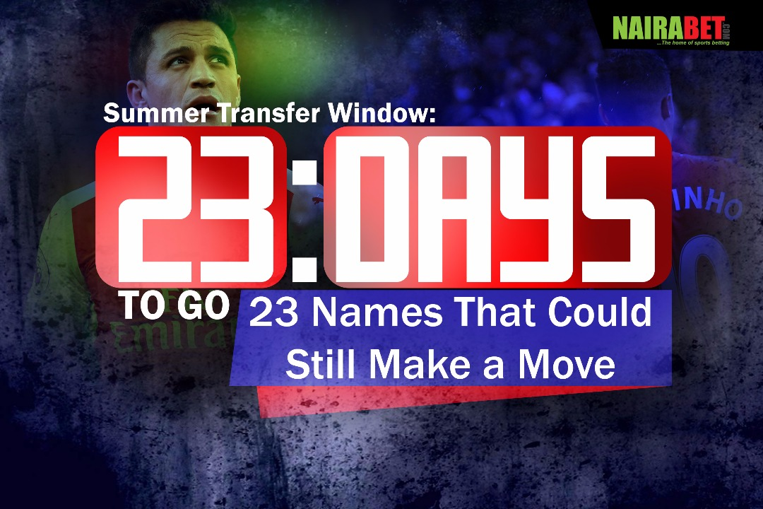 23 Names That Could Still Make a Move in the summer transfer