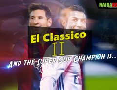 el casico super cup 2nd leg
