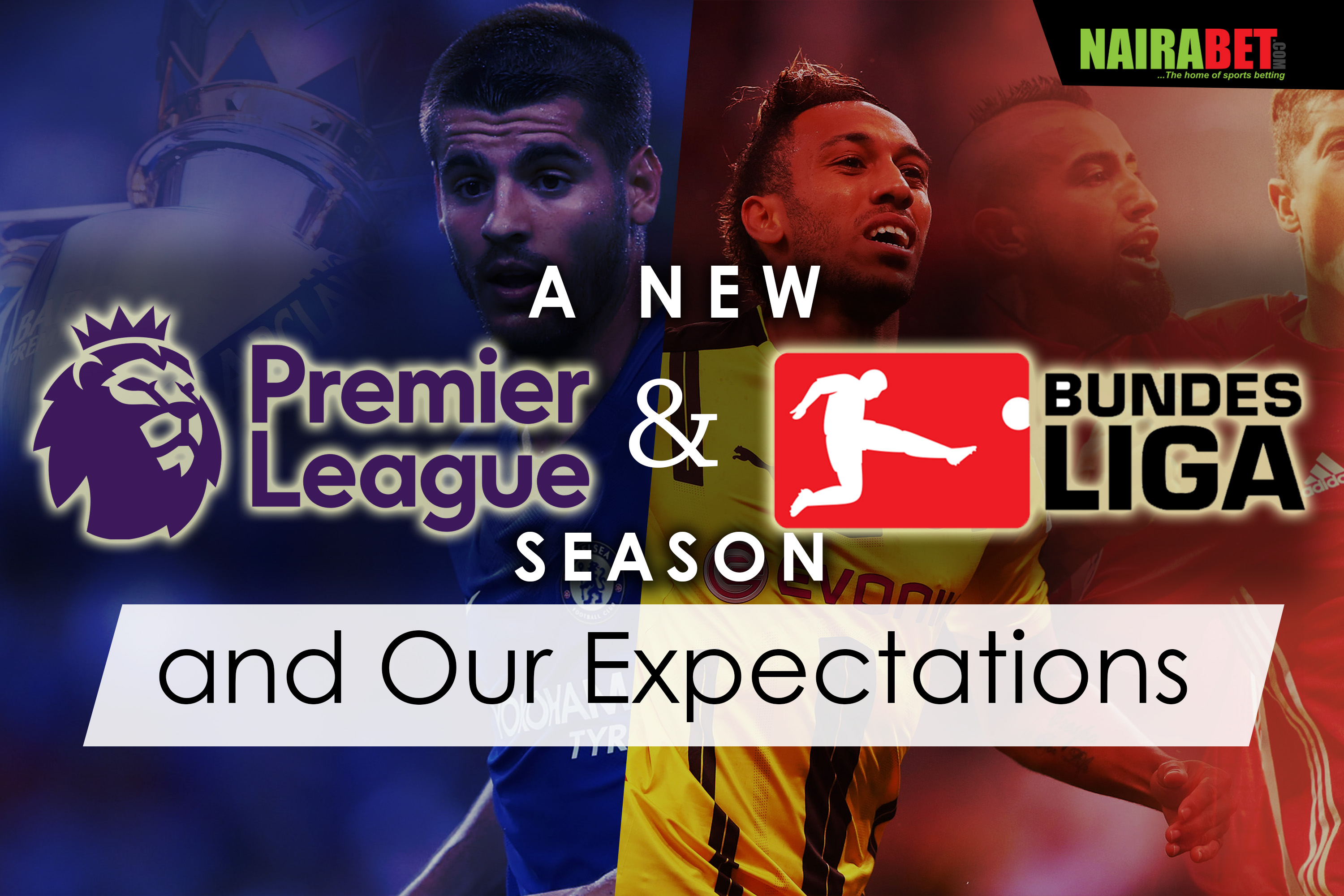 new premier league and bundesliga season
