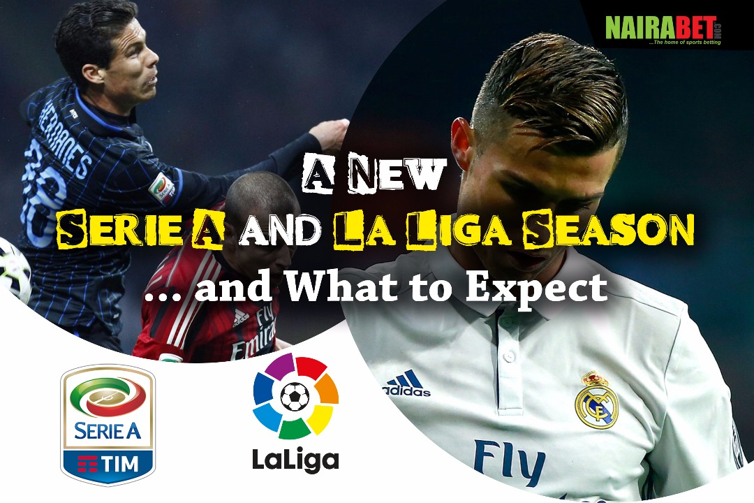 new serie a and la liga season