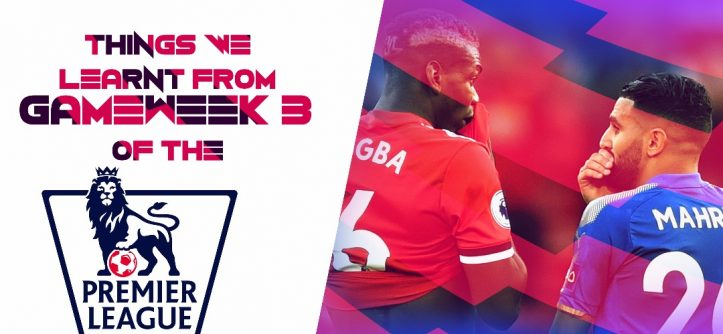 premier league gameweek 3
