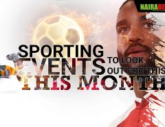 sporting events for August