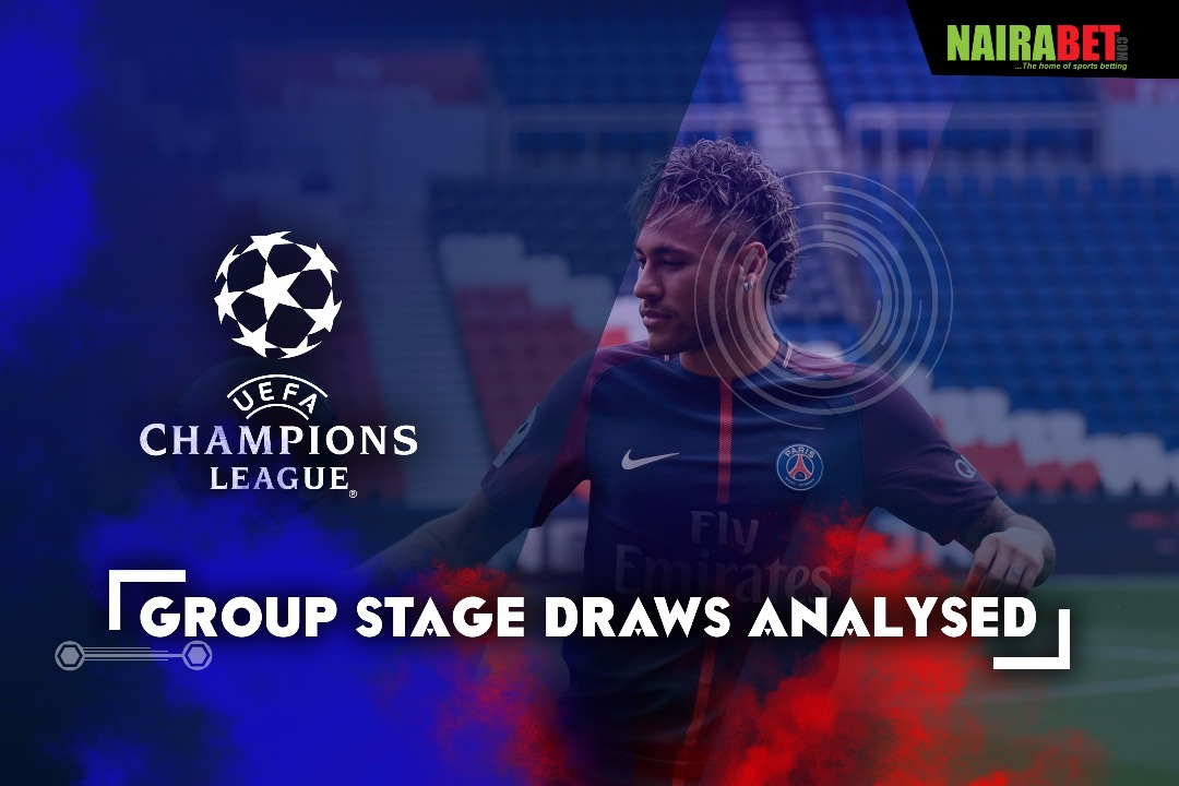 ucl draw analysed