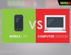 Mobile Lite vs Computer Version
