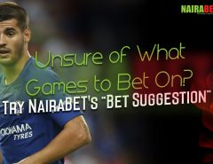 NairaBET Bet Suggestion
