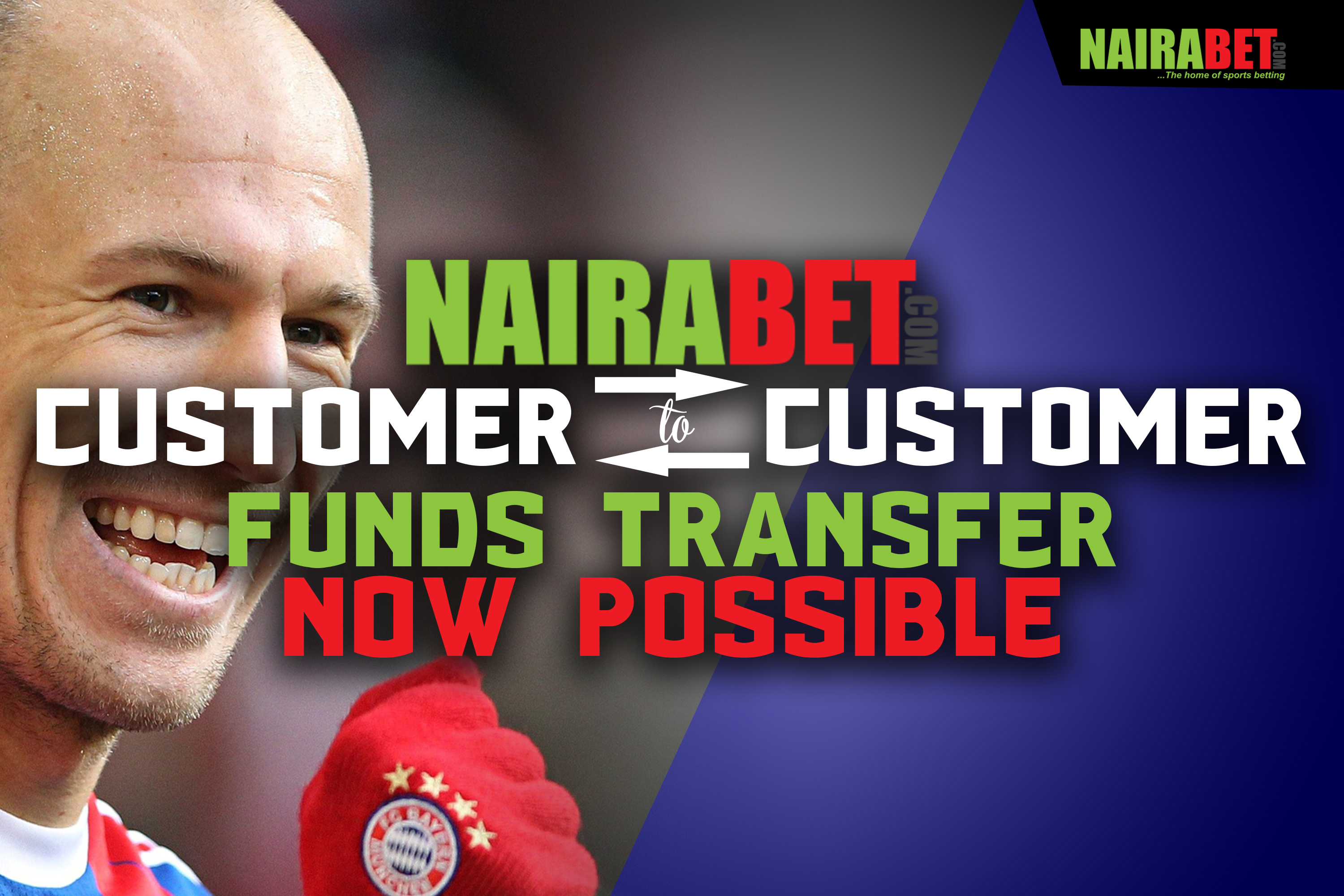 nairabet customer to customer transfer