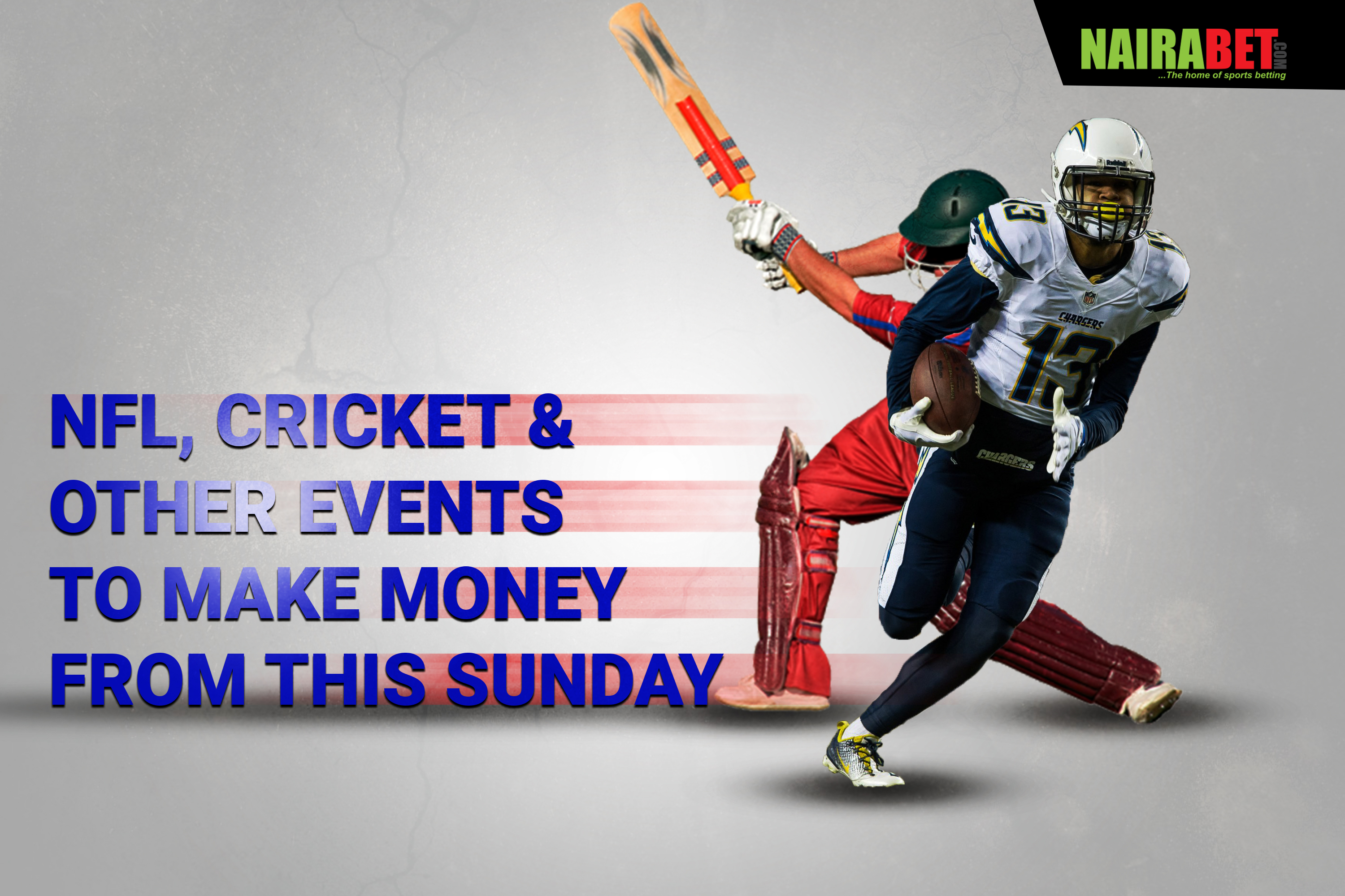 nfl, cricket and other sunday games