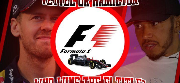 F1 vettel v. hamilton