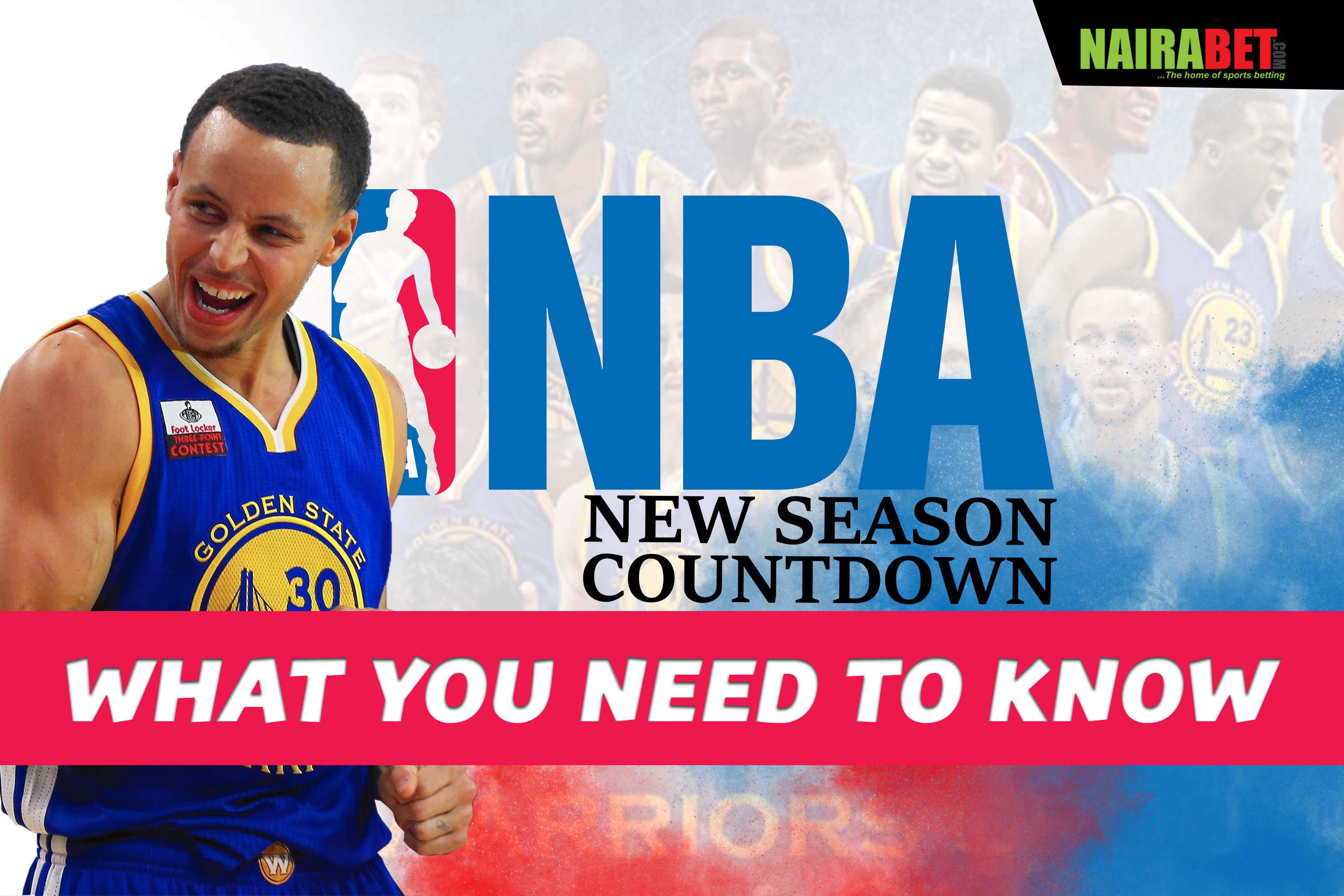 NBA New Season Countdown