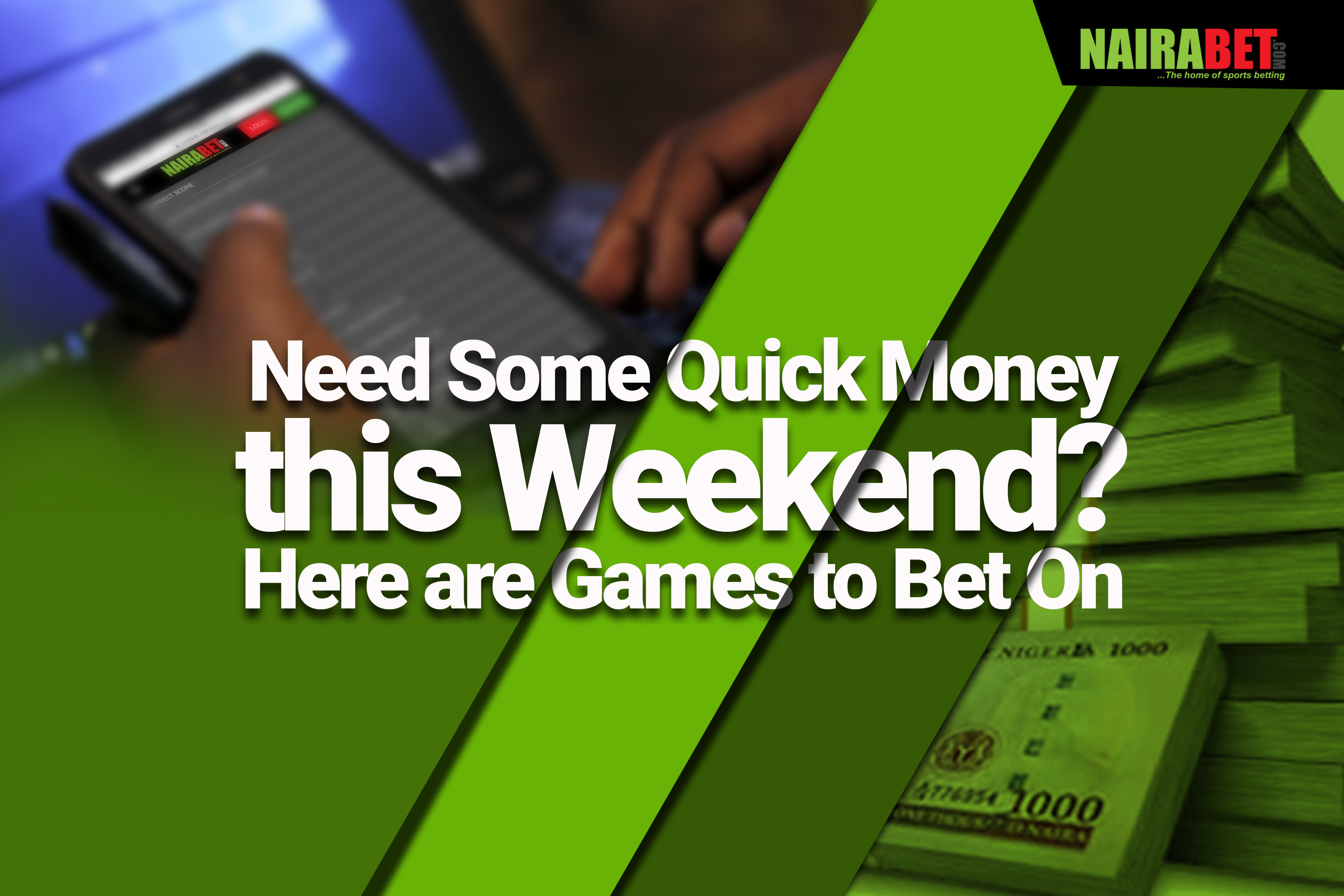 games to bet on this weekend
