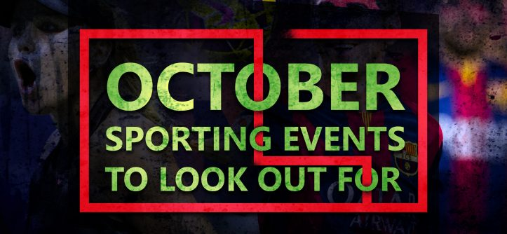 sporting events in october