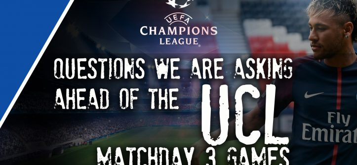 ucl matchday 3 questions