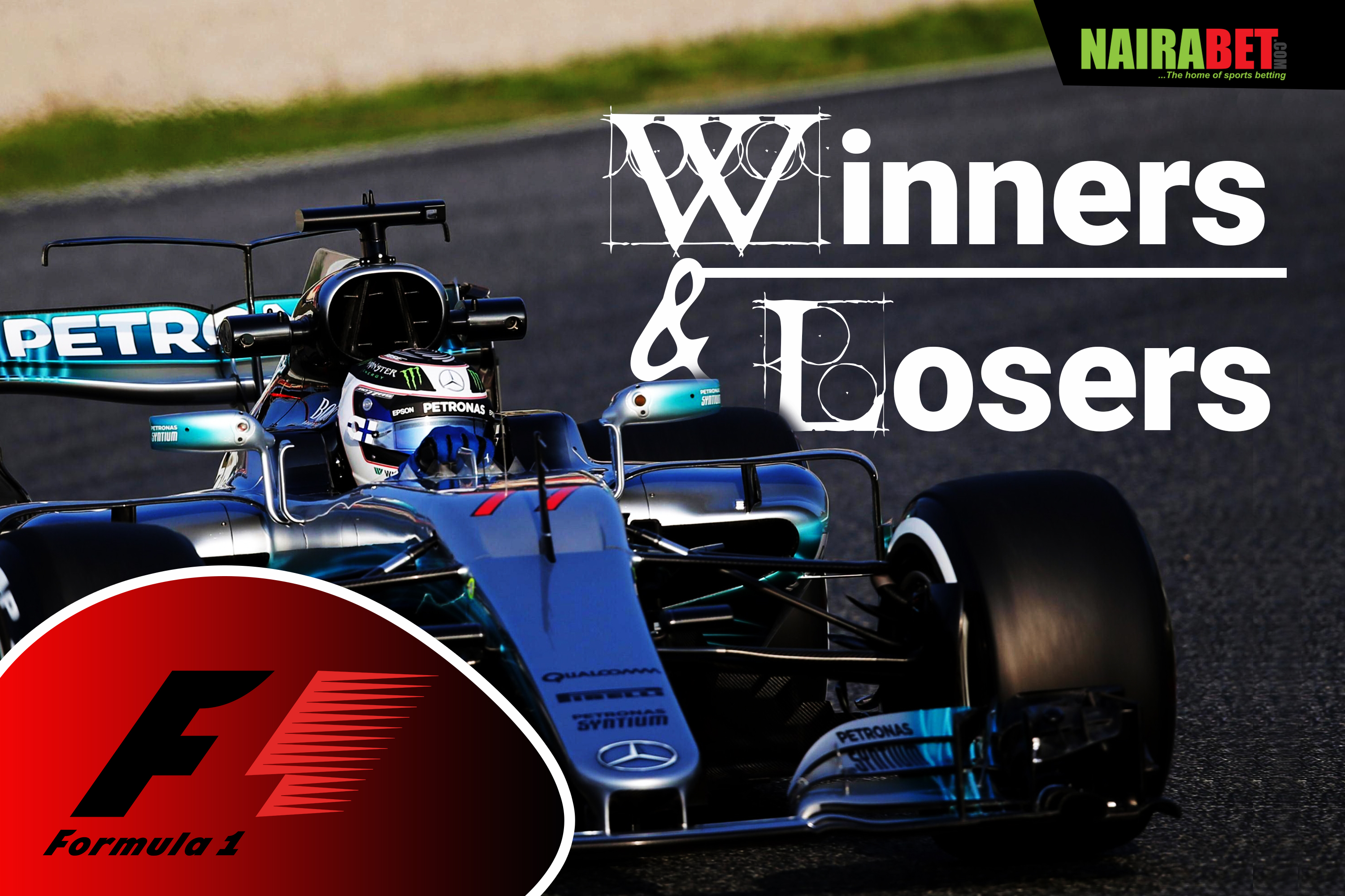 formula 1 winners and losers
