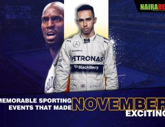 memorable november sporting events