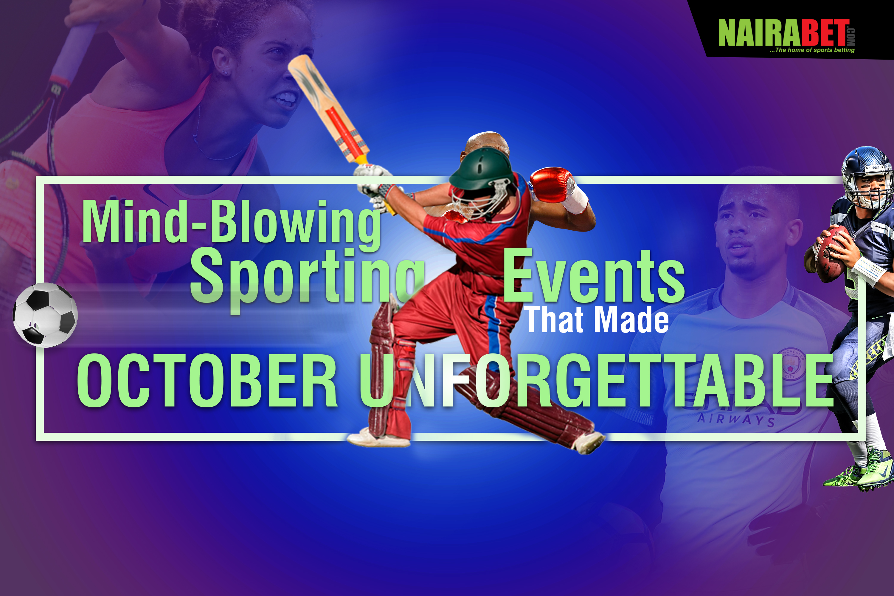 memorable october sporting events