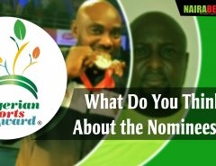 nigerian sport awards nominee
