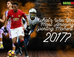 2017 amazing sporting moments