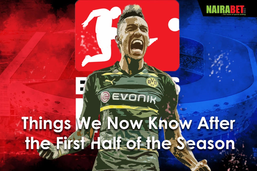 German Bundesliga First Half Season