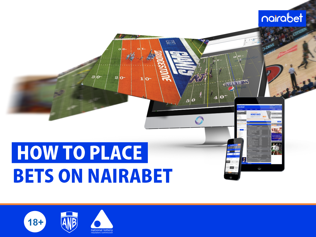 How to place bet on nairabet com legal online sports betting nj