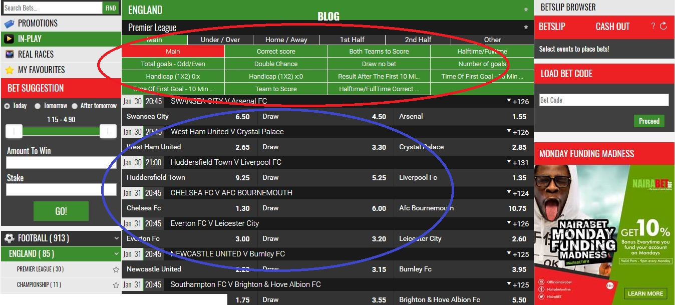 how to place bet on nairabet com