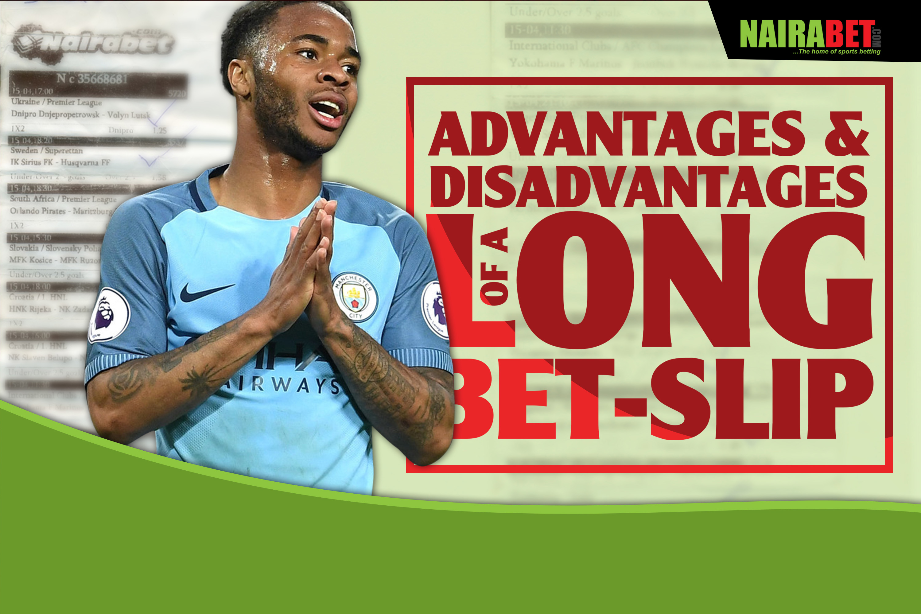 advantages and disadvantages of long bet slip