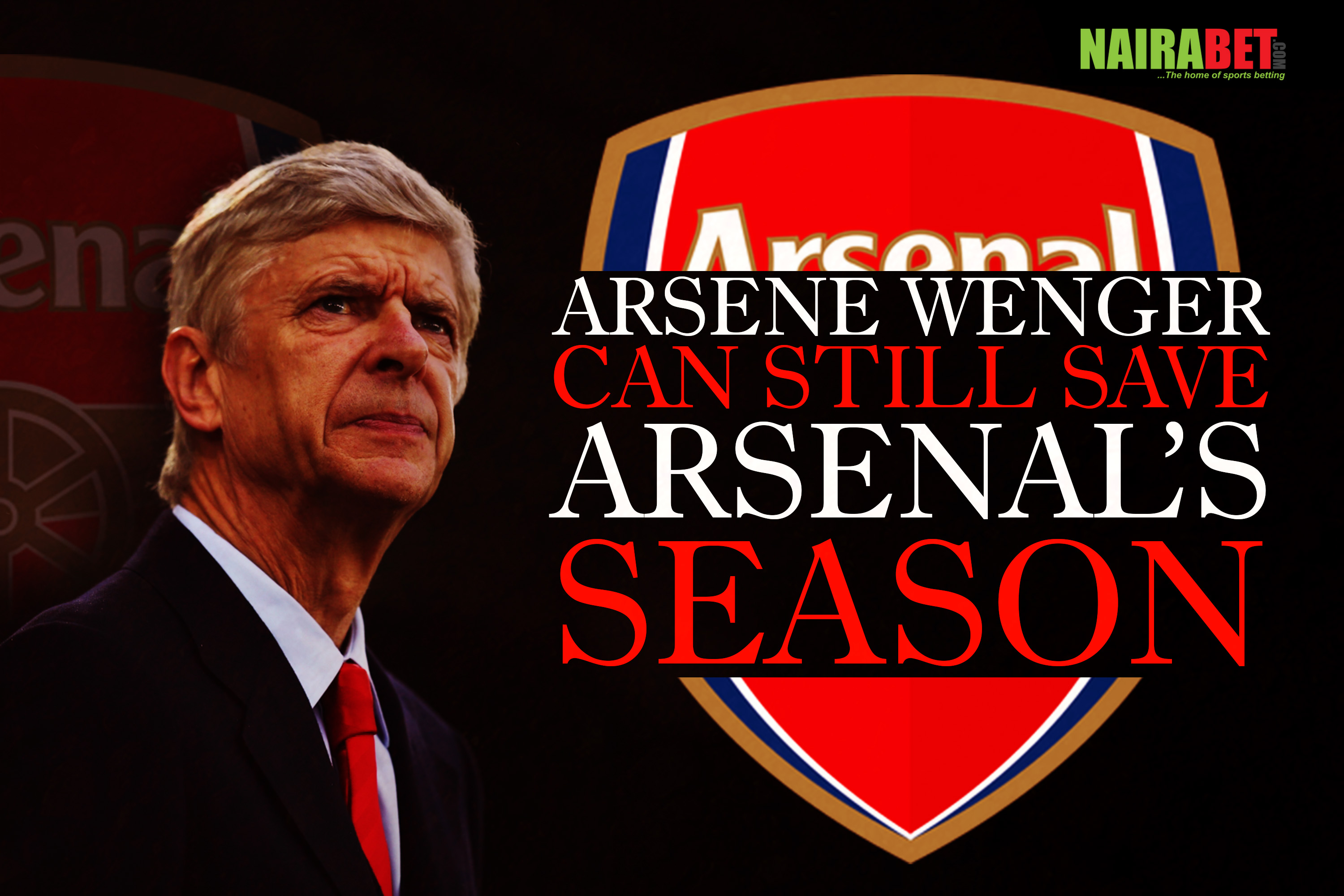 arsene wenger save arsenal season