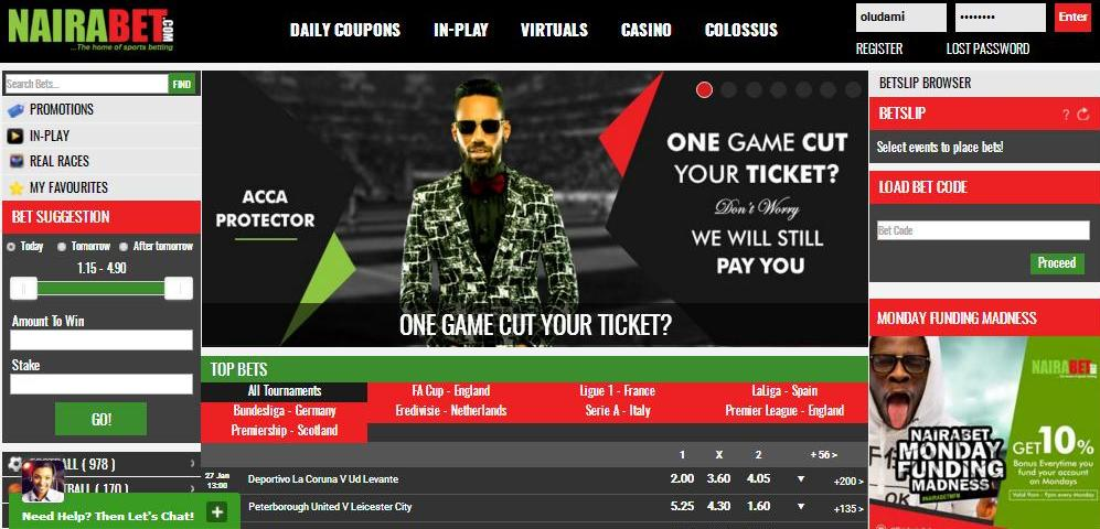 How to Place Bets on NairaBET - Welcome To The Official Blog