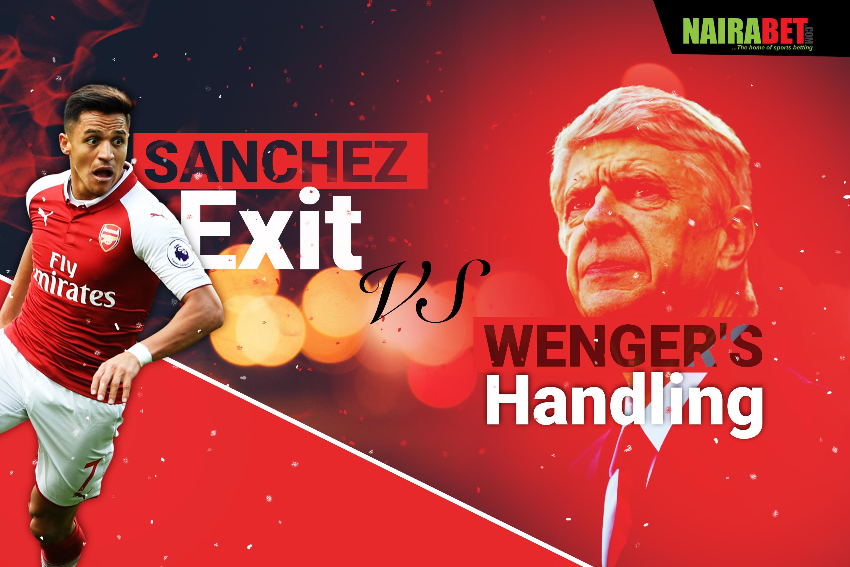 sanchez exit vs wenger's handling
