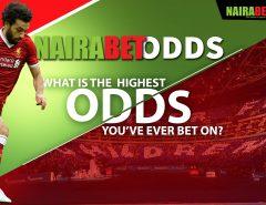 highest nairabet odds