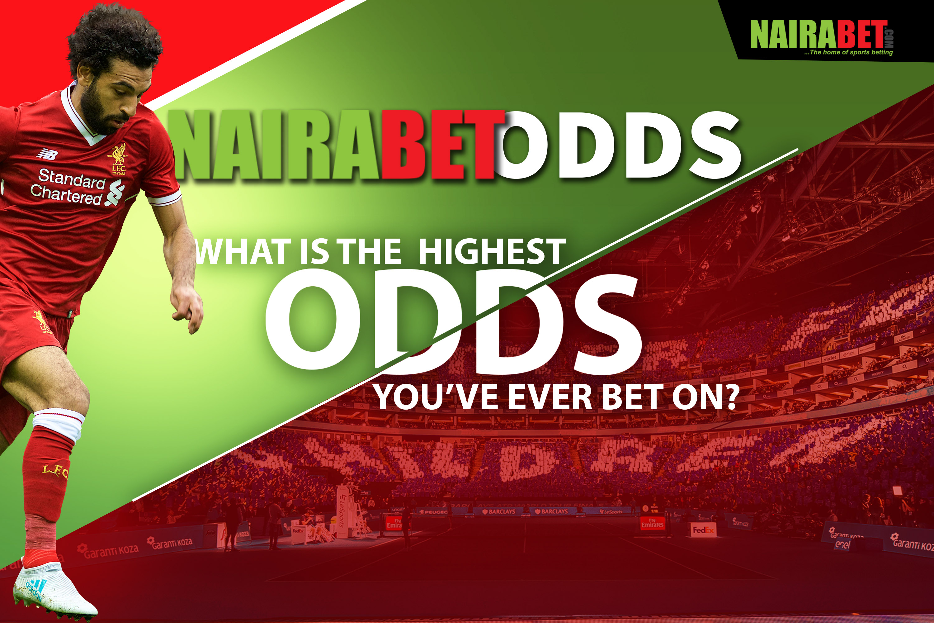 highest nairabet odds