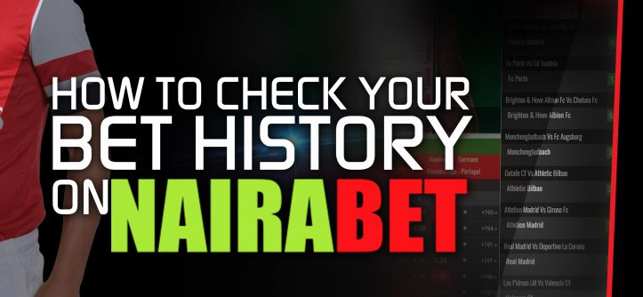 how to check your bet history