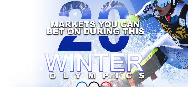 winter olympics betting markets