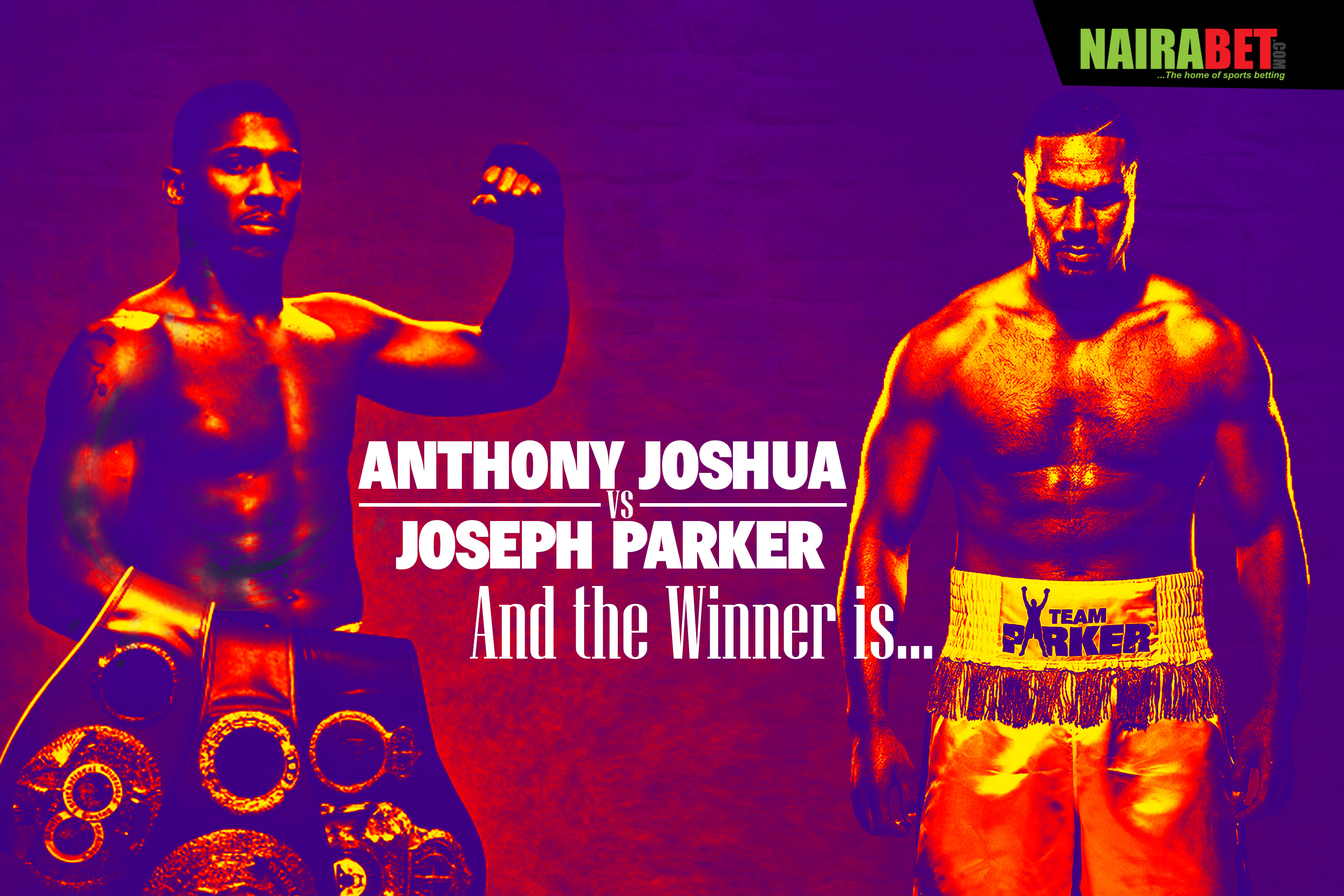 Anthony Joshua vs Joseph Parker