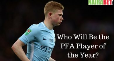 Who Will Be The PFA Player of the Year