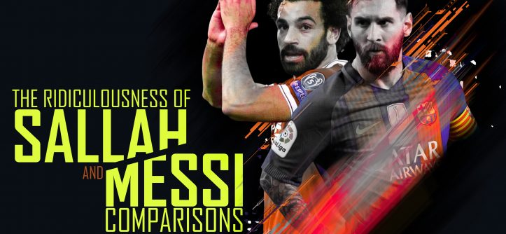 salah vs messi comparisons