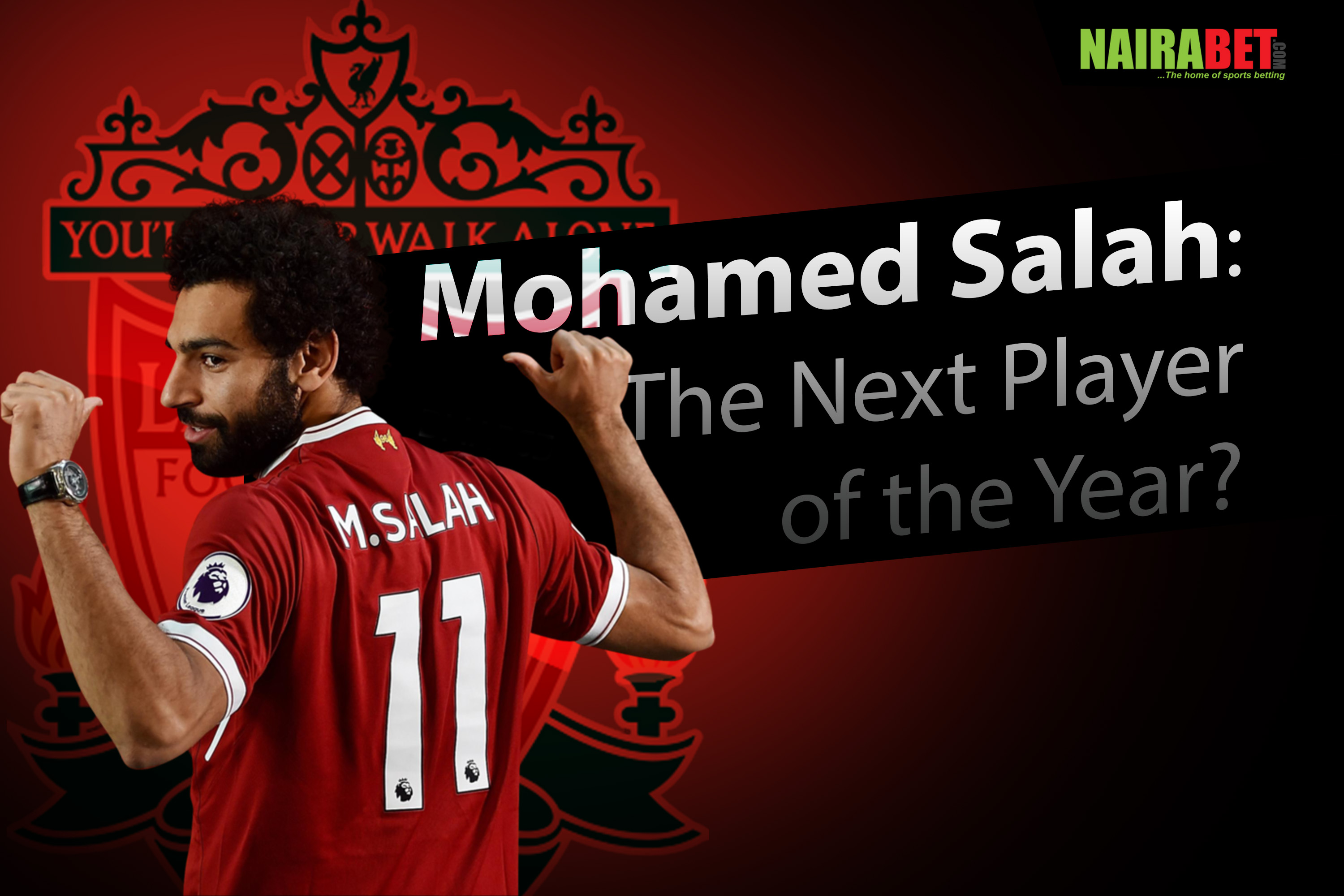 salah next player of the year