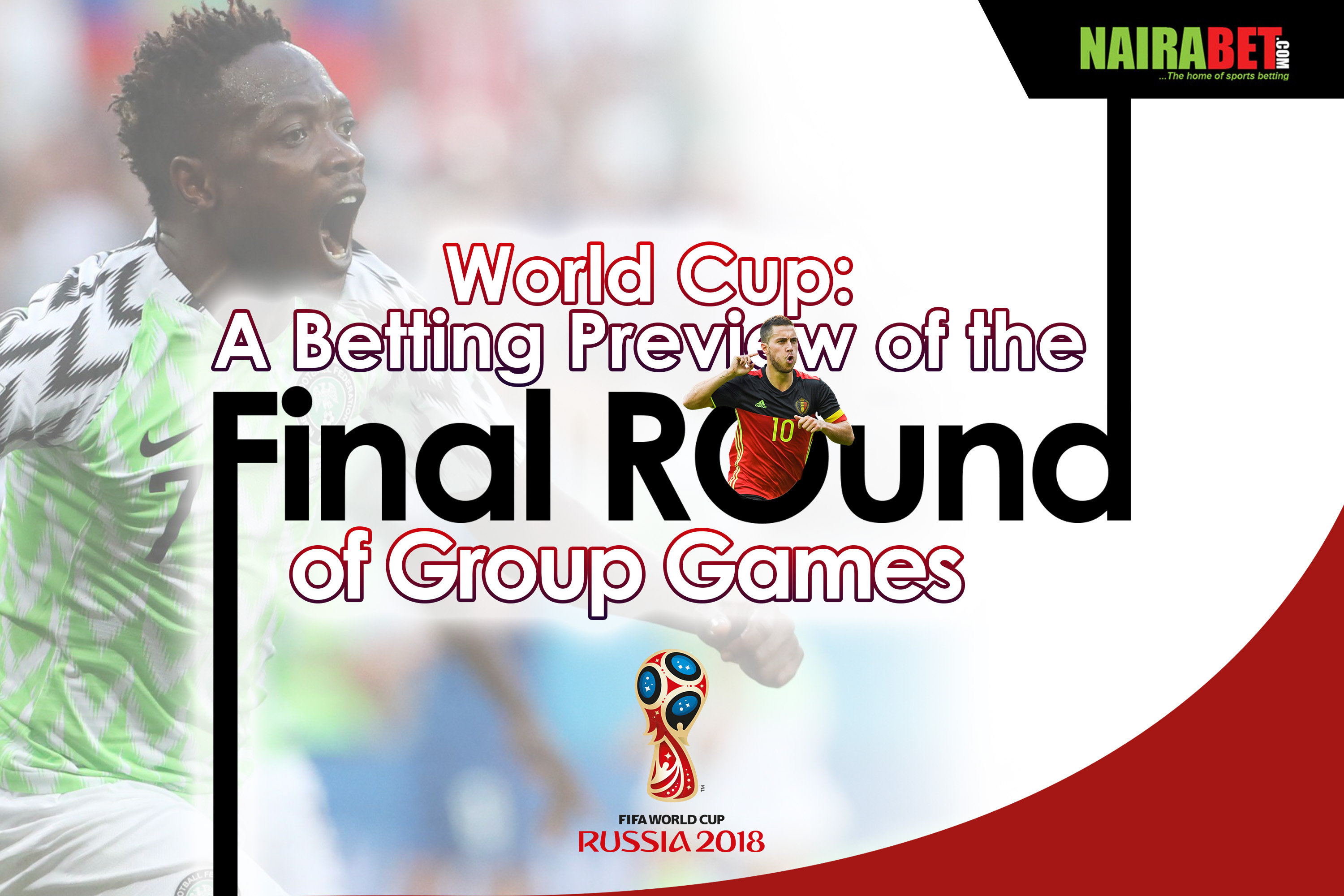 world cup group games final round