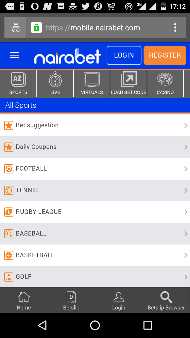 Here's How to Select Daily Games on NairaBET - Welcome To