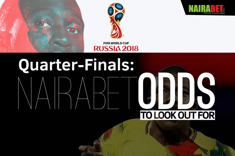 wc quater final nairabet odds