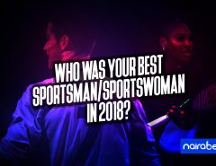 best sportman/sportwoman in 2018
