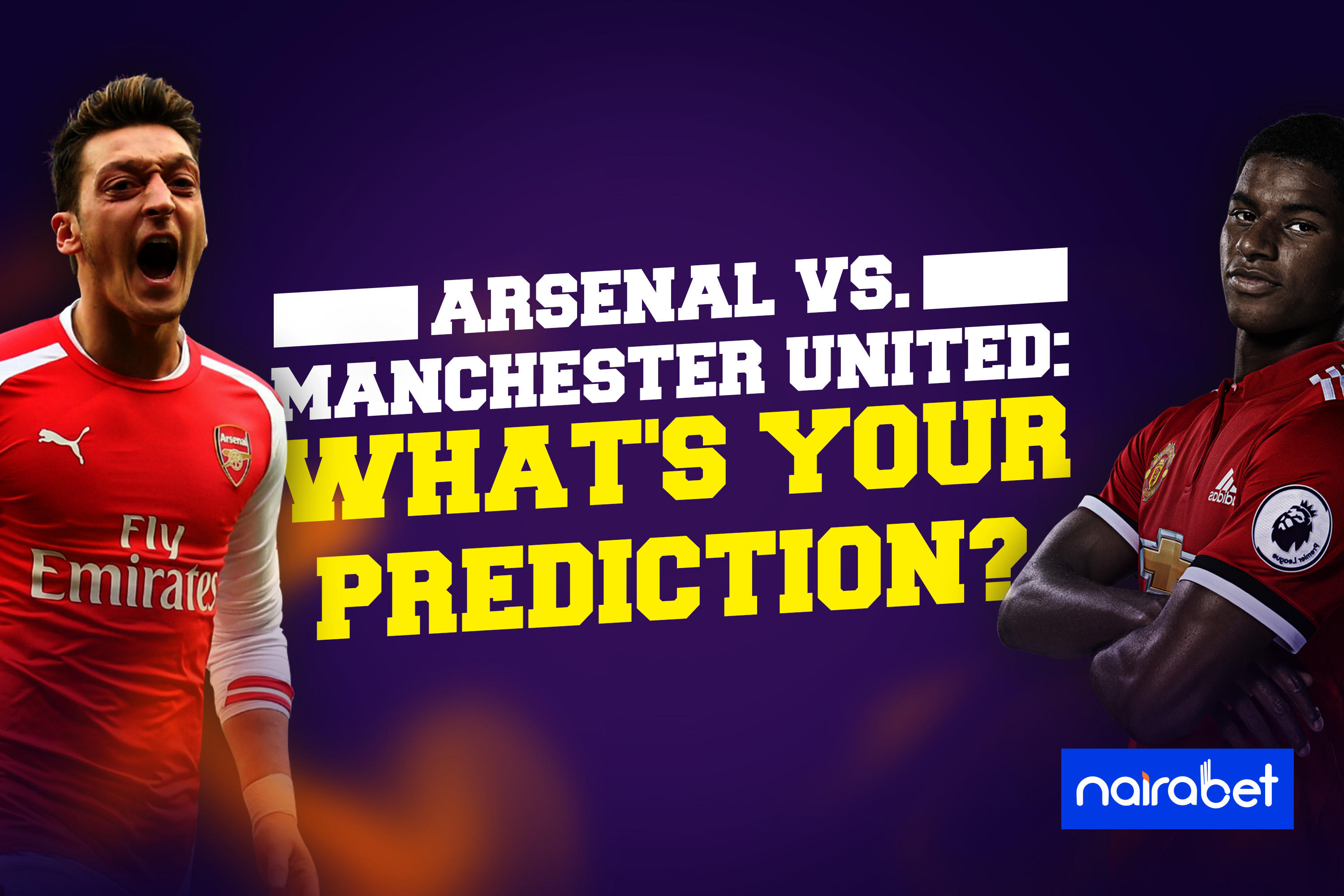 Arsenal vs Man Utd prediction