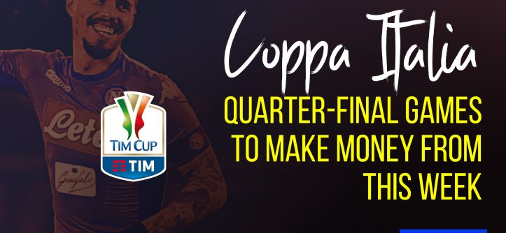 Coppa Italia quarter final to make money from