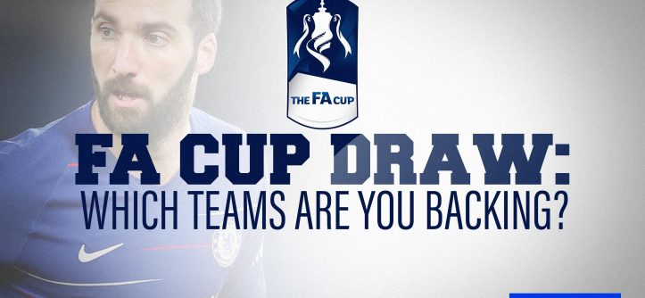 FA Cup Draw; team backing