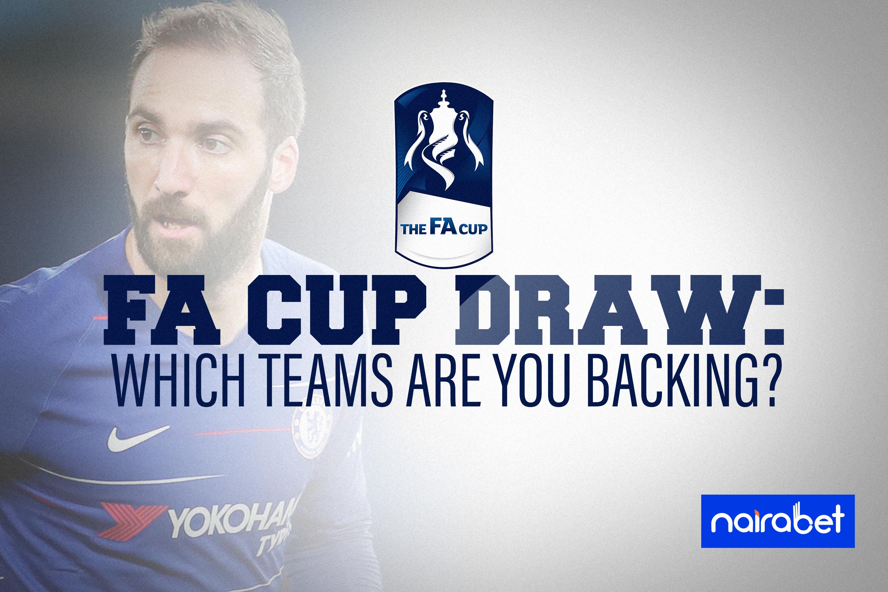 FA Cup Draw backing