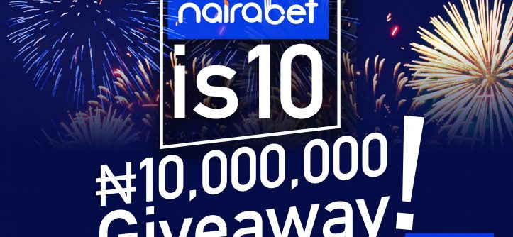 nairabet 10m giveaway